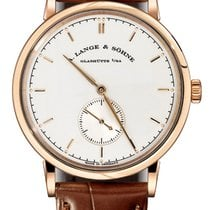 A. Lange & Söhne Saxonia Manual Wind Rose Gold Watch