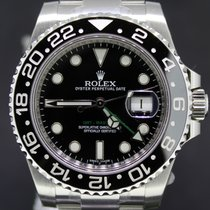 Rolex GMT Master II All Steel Ceramic Bezel Full Set 116710LN