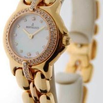 Bertolucci Ladies Watch Vir Diamond 18K Yellow Gold MOP