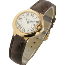 Cartier W6900256 Ballon Bleu - Small Size - Rose Gold on Strap