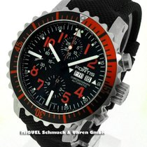 Fortis B-42 Marinemaster Red Day/Date Chronograph