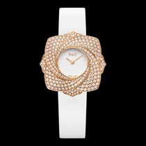 Piaget [NEW] Limelight Blooming White Dial White Satin Strap