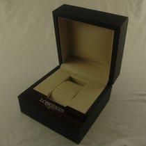 Longines Uhren Box Mit Umkarton Bakelite Top Zustand Box Case