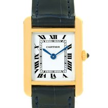 Cartier Tank Classic Paris Small 18k Yellow Gold Ladies Watch