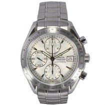 Omega Speedmaster Date Stainless Steel with Three Sub Dials...