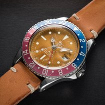"Rolex GMT MASTER POINTED CROWN GUARDS WITH ""TROPICAL""..."