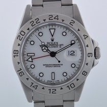 Rolex EXPLORER II GMT 16570 WHITE DIAL JUST SERVICED - 2 YEAR...