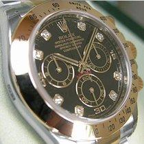 Rolex Daytona 116503 Mens Steel & Yellow Gold Black...