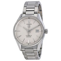 TAG Heuer Carrera Calibre 5 Stainless Steel Mens Watch...
