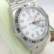 Rolex Explorer II 216570 Steel White Dial 42mm Mans Watch 2016...