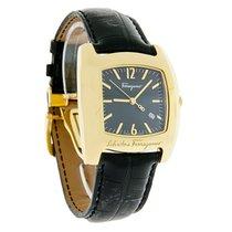 Salvatore Ferragamo Vara Mens Leather Swiss Watch F51LBQ4009-S009