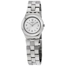 Swatch Irony Gardino Silver Dial Stainless Steel Ladies Watch...