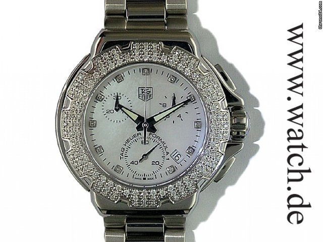 TAG Heuer Formula 1 Lady Diamonds Chronograph Date Limitiert 37mm