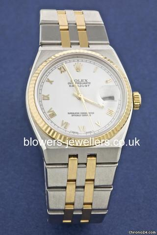 Rolex steel and gold Datejust Oyster Quartz 17013