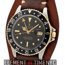 Rolex GMT-Master Stainless Steel / 18k Yellow Gold Nipple Dial...