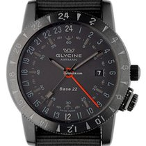 Glycine Airman base 22 42mm without crown