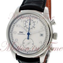 IWC Portuguese Automatic Chronograph Classic, Silver Dial -...