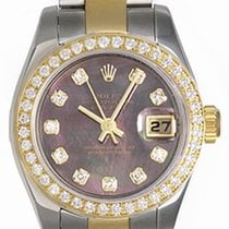 Rolex Ladies Rolex 2-tone Datejust Pre-owned Watch 179173
