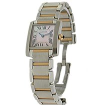 Cartier W51027Q4 2-Tone Tank Francaise - Small Size - 2 Tone...