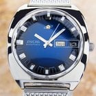 Enicar Jumbo Automatic Ss Men's Collectible Watch C1968 Ja4