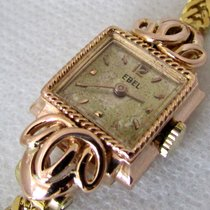 Ebel 18ct golden vintage WW2 era  serviced, ready to use