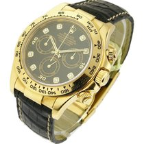 Rolex Used 116518 Daytona Yellow Gold with Rolex Movement...
