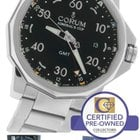 Corum Admiral's Cup GMT Date Automatic Black Stainless Watch