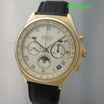 Zenith El Primero Vollkalender Moonphase Chronograph -Gold...