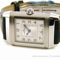Jaeger-LeCoultre Reverso Duetto steel diamonds Hand winding