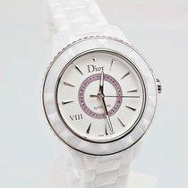 Dior VIII White Ceramic Ladies Watch CD1245EFC001