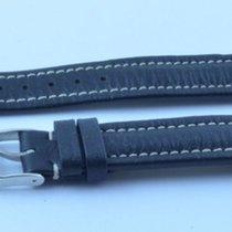 Breitling Leder Armband Band 15mm 15-14 Mit Dornschliesse Rar...