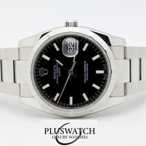 Rolex Oyster Perpetual Date 115210 Black Dial 2013 370
