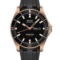 Mido Ocean Star Captain V Black Rubber