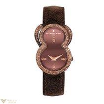 De Grisogono Be Eight 18K Rose Gold & Diamond Ladies Watch