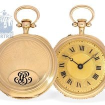 Pocket watch: important and rare miniature pocket watch minute...