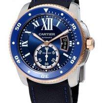 Cartier W2CA0008 Calibre de Cartier Diver in Steel with Rose...