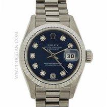 Rolex18k white gold Lady President