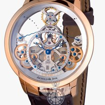 Arnold & Son Time Pyramid Instrument Rose Gold