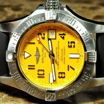 Breitling Avenger II Seawolf 45mm with Yellow Dial