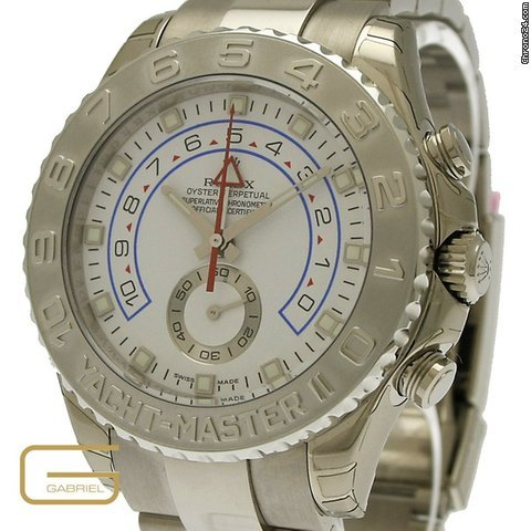 Rolex Yacht-Master II Weissgold/Platin NP 38.900,. &amp;euro;