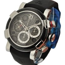 Romain Jerome Moon Dust DNA Chronograph in High Polished Steel