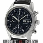 IWC Pilot Collection Pilot Chronograph Stainless Steel 39mm...