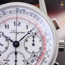 Longines Men's Heritage Tachymeter Chronograph 41mm Steel...