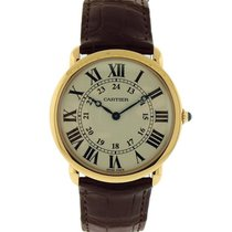 Cartier Ronde Louis Cartier 18K Solid Rose Gold