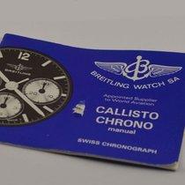Breitling Anleitung Chrono Callisto Vintage