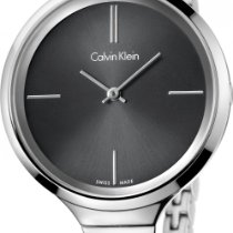 ck Calvin Klein lively K4U23121 Damenarmbanduhr Klassisch...