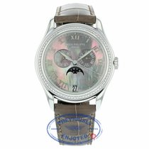Patek Philippe 38mm Complications Annual Calendar White Gold