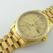 Rolex Day-date President Ref 18238 Aus 750er Gelbgold Double...