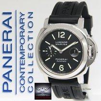 Panerai Luminor Marina PAM 104 Stainless Steel 44mm Mens Watch...