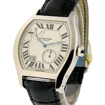 Cartier W1545951 Tortue XL - 8 Day Power Reserve - White Gold...
